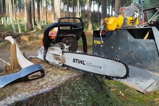 Tree Trimming Chainsaw Axe Tools